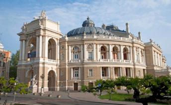 Приморский район и оперный театр