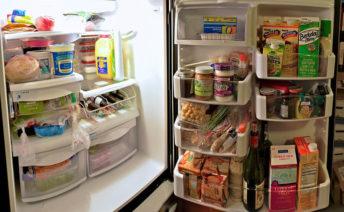 Продукты в холодильнике