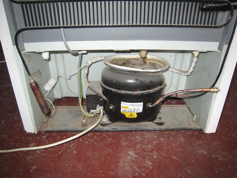 Ремонт холодильников Одесса Приморский – компрессор в холодильнике после ремонта
