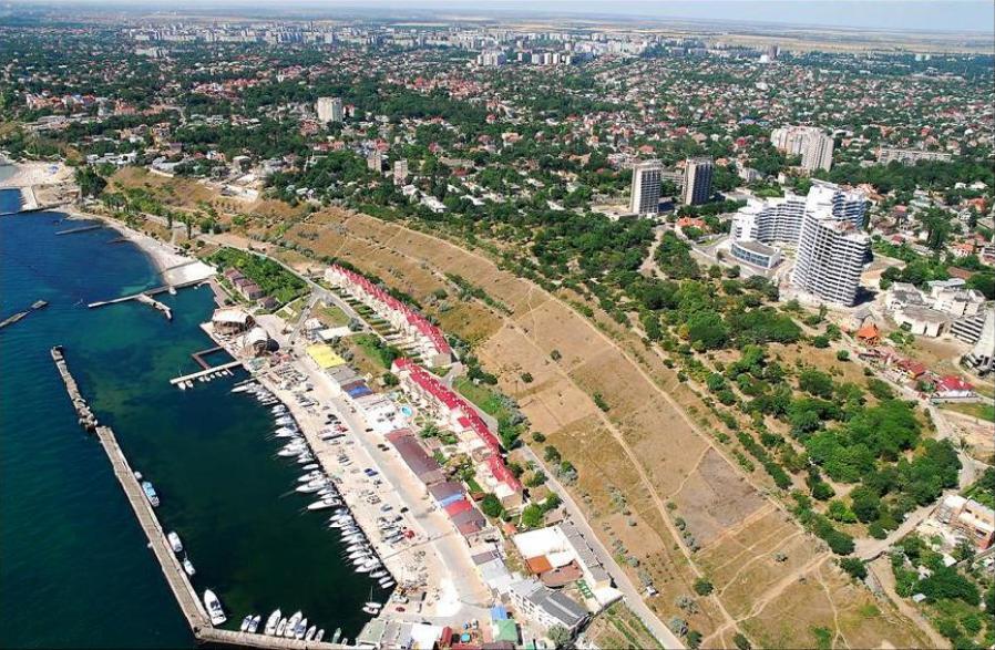 Район Фонтана в Одессе