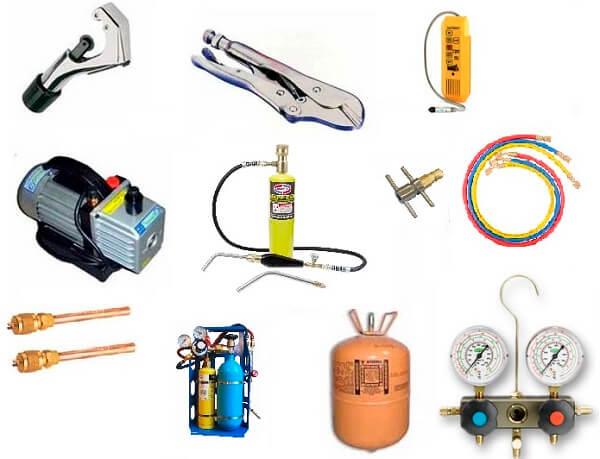 Оборудование для ремонта холодильников