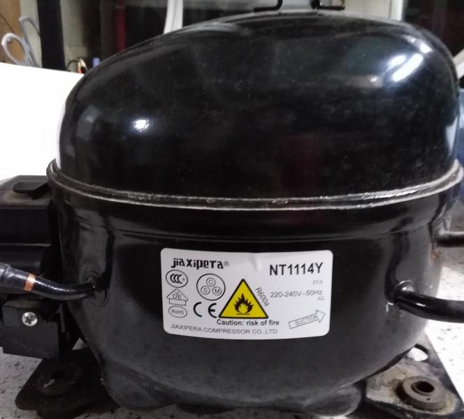 Роторный асинхронный компрессор